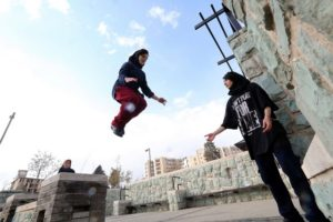 Iran Women Parkour Group